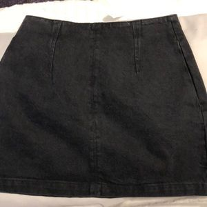 Top shop Black jean skirt